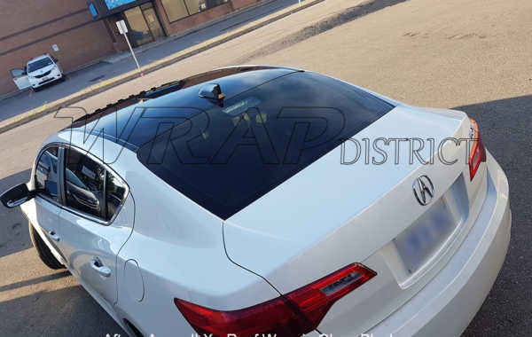 Acura ILX – Roof Wrap in Gloss Black