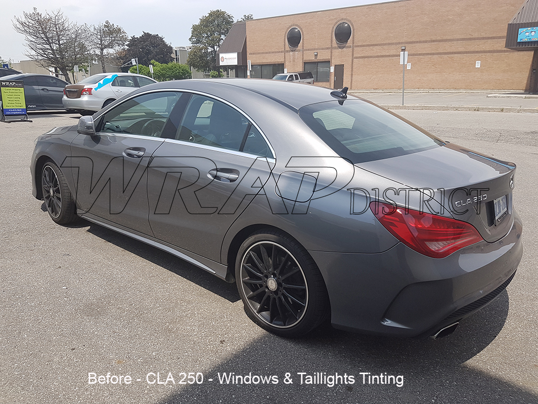 Mercedes Benz Cla 250 Windows Amp Taillights Tinting