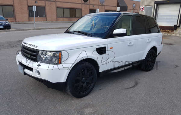 Range Rover – Gloss White Wrap