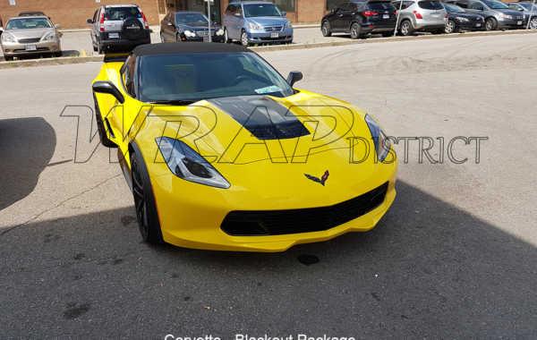 Corvette – Blackout Package