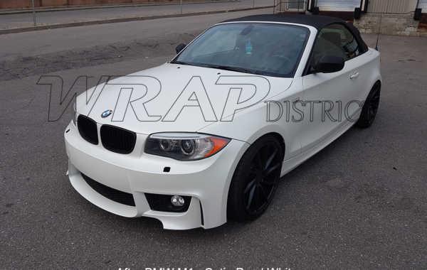 BMW M1 – Pearl Satin White Wrap