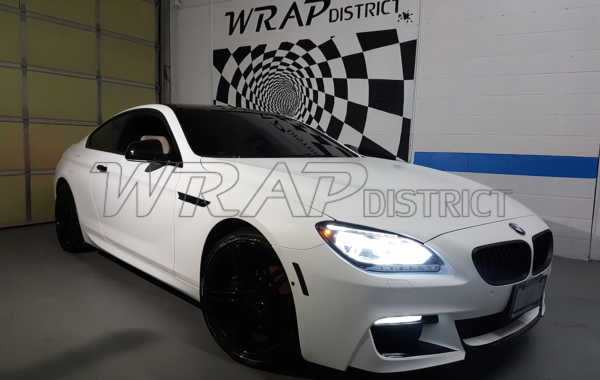 BMW 650i – Wrapped in Matte White