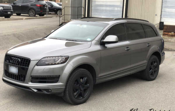 Audi Q7 – Chrome Delete