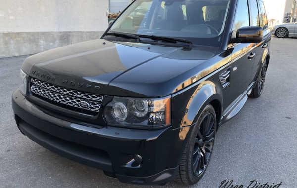 Range Rover – Partial Black Out