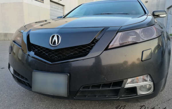 Acura TL – Grille & Trunk Chrome Wrap