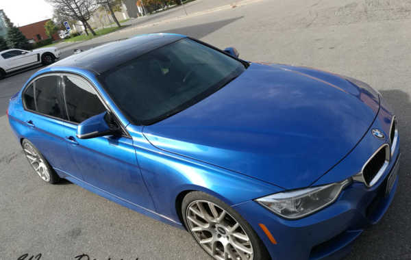 BMW 3 Series – Roof Wrap in Gloss Black