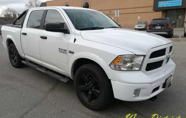 Dodge Ram – Chrome Bumpers Wrap