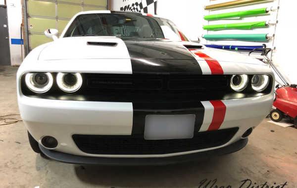 Dodge Challenger Custom Stripes