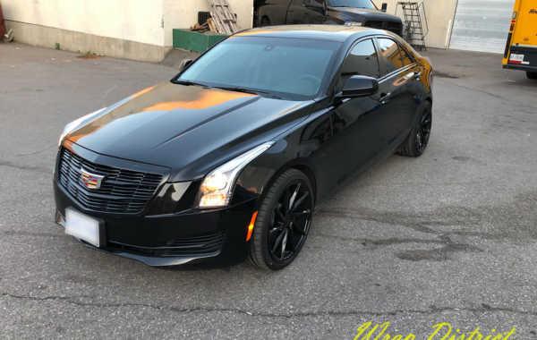 Cadillac CTS – Chrome Delete