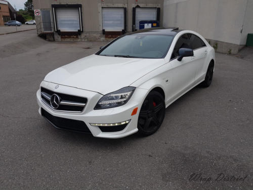 Mercedes Benz - CLS - Wrapped in Gloss Pearl White