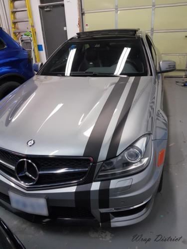 Mercedes C63 - Side Body Stripes