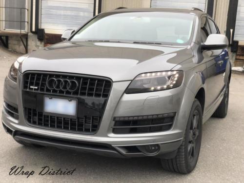 Audi Q7 - Complete Chrome Delete
