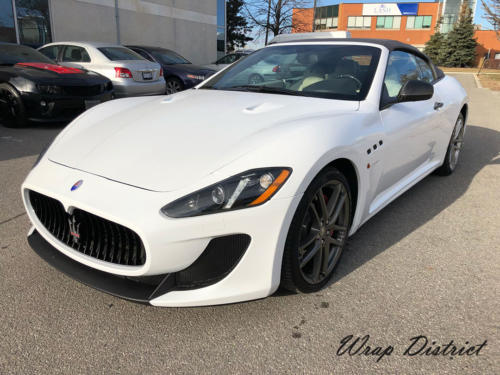 Maserati GranTurismo - Wrapped in Gloss White