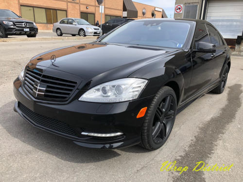 Mercedes Benz S550 - Complete Chrome Delete