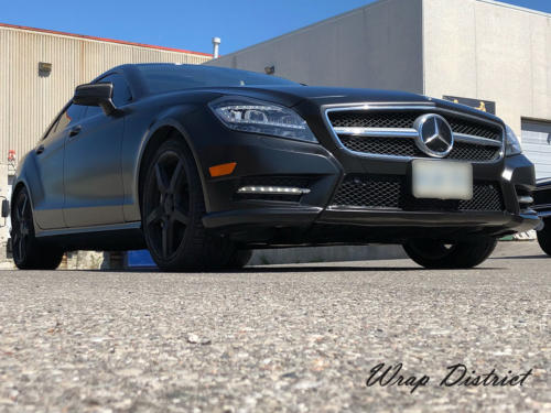 Mercedes Benz CLS 550 - Wrapped in Satin Black
